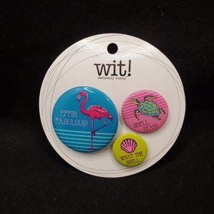 3 Funny Circle Buttons